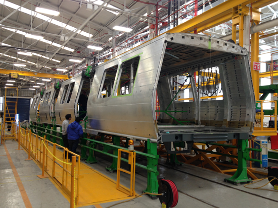Behind The Scenes Bart S New Train Cars Undergo Extensive