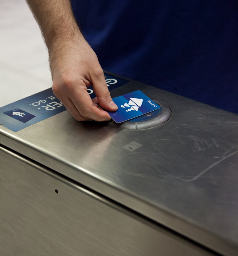 Riders will still be able to use paper tickets to enter or exit through fare gates in stations where only Clipper Card is sold.