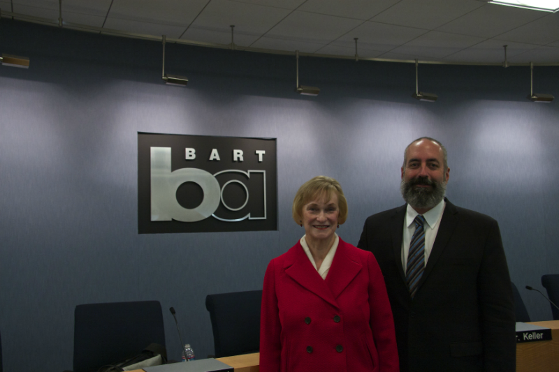 new BART elected president and vice president