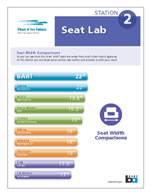 seat width poster