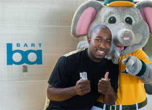 stomper with a fan
