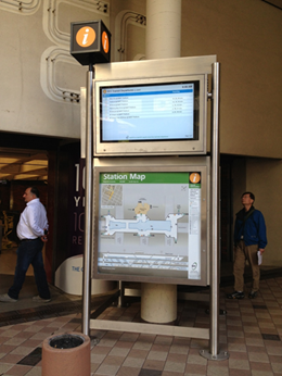 real time information displays