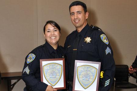 Sgt. Tania and David Salas.