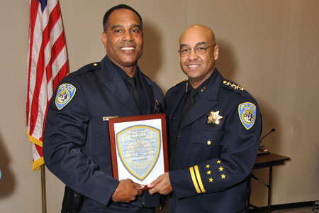 Chief Rainey and Officer Sean Fenner.