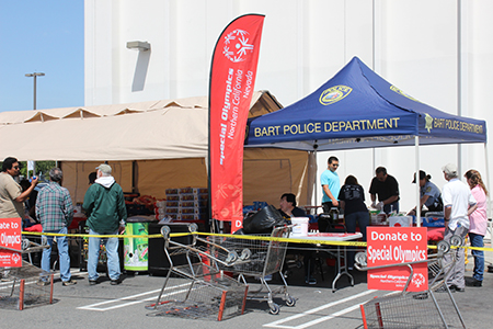 BART Police Fundraiser for Special Olympics