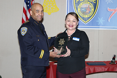BART Station Agent Receiving Good Samaritan Award