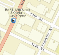 12th St. Oakland City Center Station Area Map