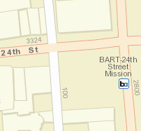 24th St. Mission Station Area Map