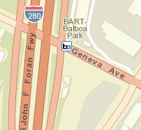 Balboa Park Station Area Map