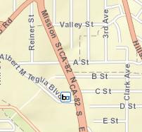 Colma Station Area Map