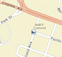 Concord Station Map