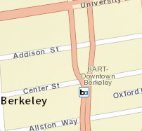 Downtown Berkeley Station Area Map