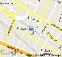 Fruitvale Station Map