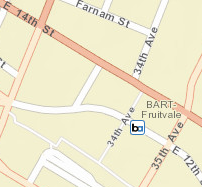 Fruitvale Station Area Map