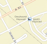 Hayward Station Area Map