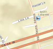 Lafayette Station Area Map