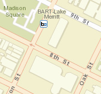 Lake Merritt Station Area Map