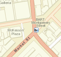 Montgomery St. Station Area Map