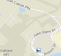 Map of Oakland Int'l Airport Station