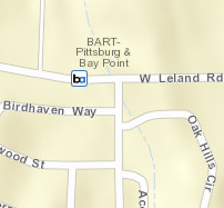 Pittsburg / Bay Point Station Area Map