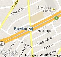 Rockridge Station Map