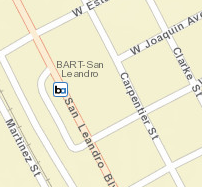 San Leandro Station Area Map