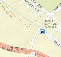 South San Francisco Station Area Map