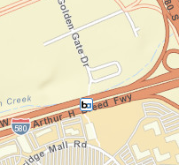 West Dublin / Pleasanton Station Area Map