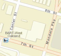 West Oakland Station Area Map