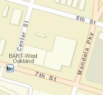 West Oakland Station Map