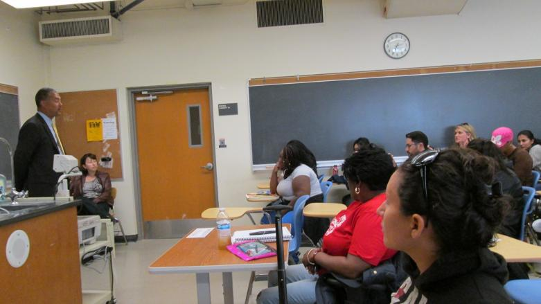 Cal State East Bay Restorative Justice Class - Hayward