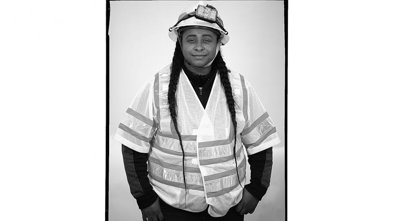 BART track worker CanDace Goodspeed