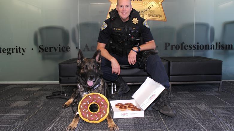 K9 Officer Christ and Bart