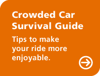 Crowded car survival guide